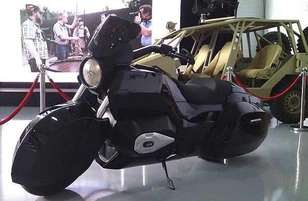 В России начнут собирать мотоциклы марки Aurus