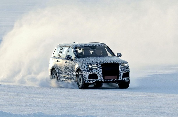 Новый внедорожник Aurus Komendant подготовился к российской зиме